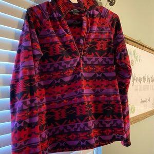Eddie Bauer quarter zip fleece